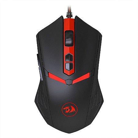 Mouse Redragon M602 Nemeanlion 3000dpi 7 botões USB
