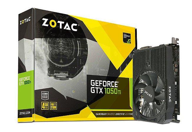 Zotac GeForce GTX 1050 Ti 4GB Mini 128-Bit GDDR5 PCI Express 3.0 (ZT-P10510A-10L)