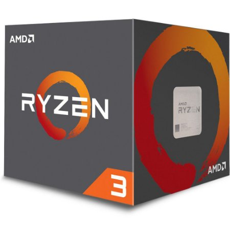 AMD RYZEN 3 1300X 4-Core 3.5 GHz (3.7 GHz Turbo) Socket AM4 65W (YD130XBBAEBOX)