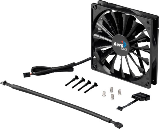 Fan Aerocool Shark Black Edition 140MM (EN55451)