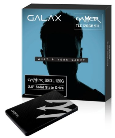 Galax Gamer L VT100T 120GB SATA III Leitura 520MBS Gravação 500MBS (TGAA1D4M4BG49BNSBCYDXN)