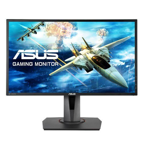 "Monitor Gamer ASUS 24"" Full HD, 1ms, 144Hz, DisplayWidget, GamePlus, Trace Free, Free-Sync (MG248QR)"