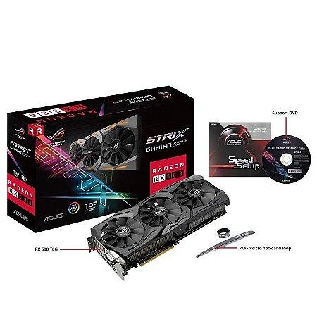 ASUS ROG STRIX Radeon RX 580 8GB 256-Bit GDDR5 (ROG-STRIX-RX580-T8G-GAMING)