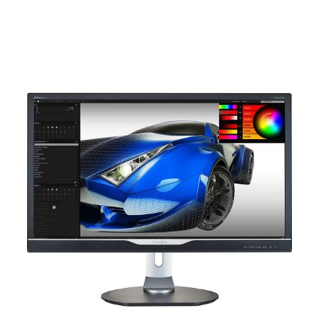 "Monitor 28"" LED PHILIPS - ULTRA HD 4K - HDMI - MULTIMIDIA - DVI - USB - MHL (288P6LJEB)"