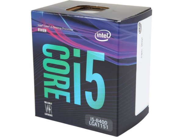 Intel Core i5-8400 Coffee Lake 6-Core 2.8 GHz (4.0 GHz Turbo) LGA 1151 (300 Series) 65W Intel UHD Graphics 630 (BX80684I58400)