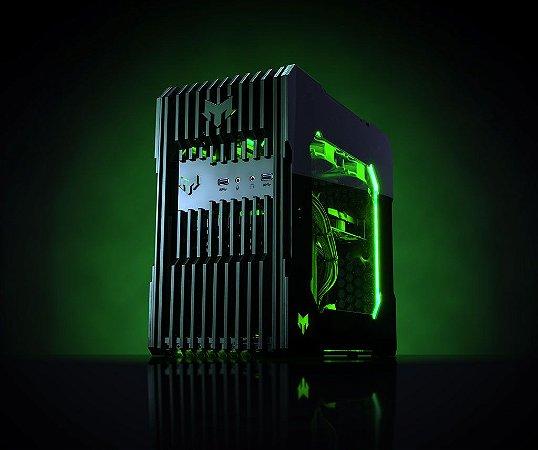 Myth Gamer ZEDD Intel 8º Geração i7 8700 3.2 GHZ / 16gig DDR4 2400Mhz / SSD 240Gig / Gforce GTX 1080Ti 11Gig / Fonte 600W 80 Plus bronze / Gab ZEDD Acrílico