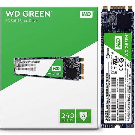 SSD WD Green M.2 2280 240GB SATA III 6Gb/s (WDS240G2G0B)