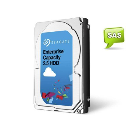 Seagate Enterprise Servidor 2 TERA 7200RPM 128MB CACHE SAS 12GB/S (ST2000NX0433)