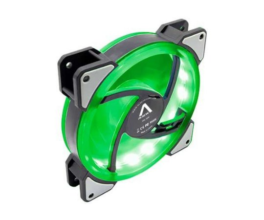Fan Alseye D-Ringer Lighting 120MM LED Verde (DR-120-SG)