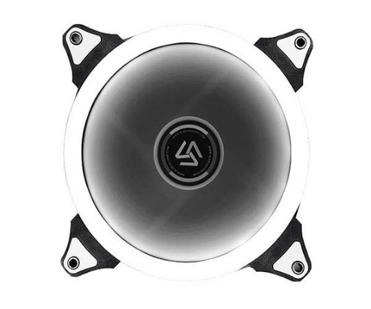 Fan Alseye Aurora Single 120MM LED Branco (A-120-SW)