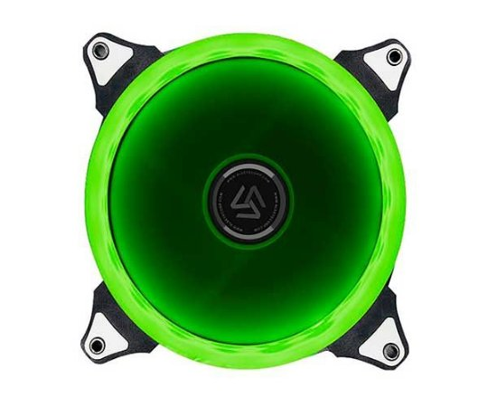 Fan Alseye Aurora Single 120MM LED Verde (A-120-SG)