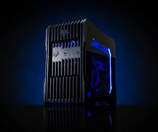 Myth Gamer ZEDD Intel 8º Geração Pentium Gold G5400 3.7 GHZ/ 8gig DDR4 2400Mhz / SSD 120Gig / Gforce GTX 1050 2Gig / Fonte 400W 80 Plus bronze /  Gab ZEDD Acrílico