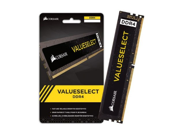 Corsair Value Select 8GB 2400Mhz DDR4 CL16 (CMV8GX4M1L2400C16)