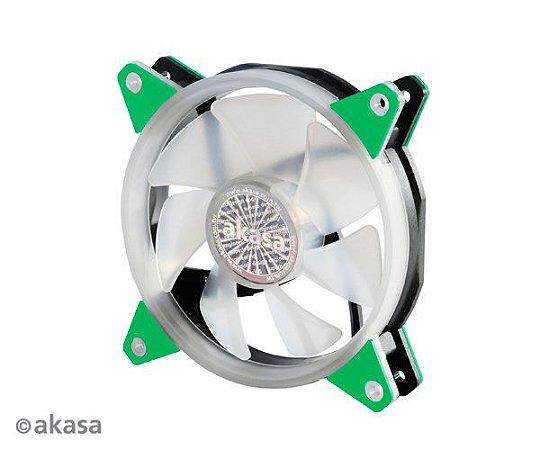 Fan Akasa VegasR 120MM 33 LEDs Verde (AK-FN097-GN)