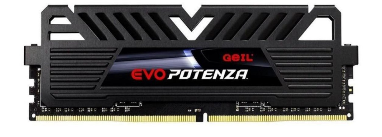GeIL EVO POTENZA 8GB (1 x 8GB) 288-Pin DDR4 2400Mhz (PC4 19200) Desktop Memory (GAPB48GB2400C16SC)