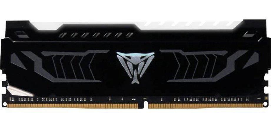 Patriot Viper LED 8GB (1 x 8GB) DDR4 3200MHz DRAM CL16 1.35V White Extreme Performance (OEM) (PVLW416G320C6K)
