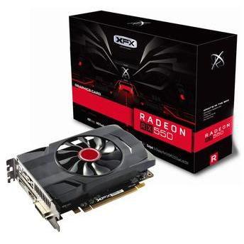 XFX Radeon RX 550 DirectX 12 4GB 128-Bit DDR5 PCI Express 3.0 (RX-550P4SFG5)