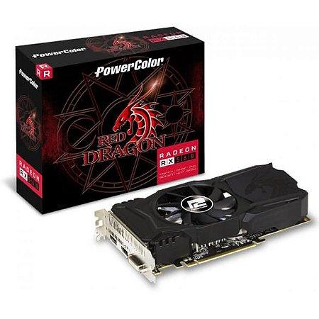 PowerColor Red Dragon Radeon RX 560 14CU 4GB DirectX 12 128-Bit GDDR5 PCI Express 3.0 CrossFireX (AXRX 560 4GBD5-DHA)