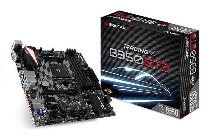 BIOSTAR B350GT3 AM4 AMD B350 SATA 6Gb/s USB 3.1 HDMI Micro ATX
