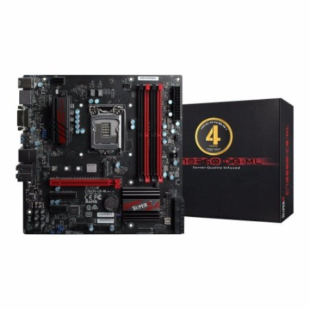 SUPERMICRO MBD-C7B250 LGA 1151 Intel B250 HDMI SATA 6Gb/s USB 3.0 Micro ATX (MBD-C7B250-CB-ML-O)