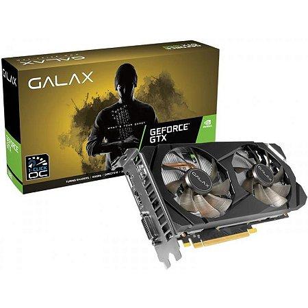 GALAX GeForce GTX 1660 (1-CLICK OC) 6GB GDDR5 192-Bits DX 12 PCI Express 3.0 x16 (60SRH7DSY91C)