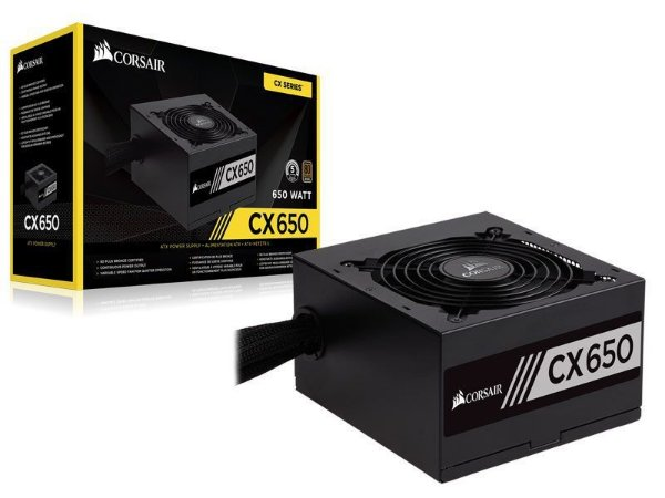 Corsair CX series CX650 650W 80 PLUS BRONZE Certified Active PFC (CP-9020122-WW)