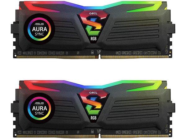 GeIL SUPER LUCE RGB SYNC AMD Edition 16GB (2 x 8GB) 288-Pin DDR4 3000MHz (PC4 24000) (GALS416GB3000C16ADC)