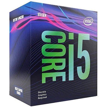Intel Core i5-9400F Coffee Lake 6-Core 2.9 GHz (4.10 GHz Turbo) LGA 1151 (300 Series) 65W Sem Gráfico Integrado (BX80684I59400F)