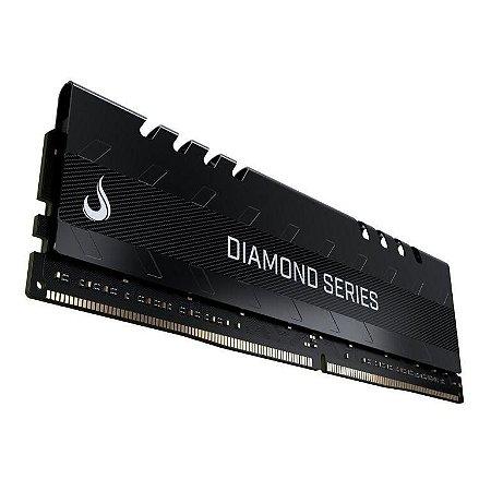 Rise Mode Diamond 16GB, 2400MHz, DDR4, CL15, Preto - (RM-D4-16G-2400D)
