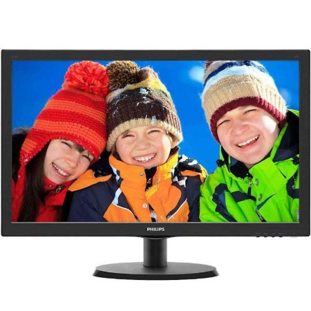 "Monitor Philips 21,5"" LED Full HD HDMI/VGA, 5ms (223V5LHSB2)"