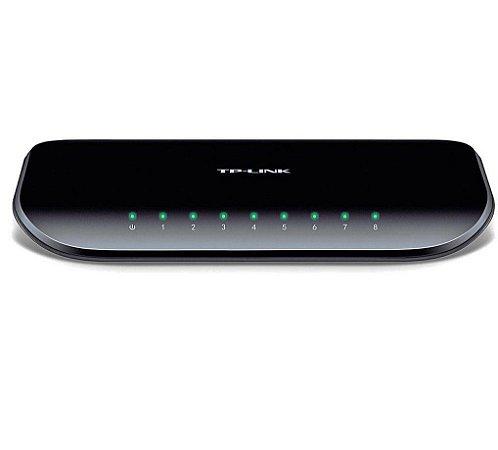 Switch TP-Link 8 Portas 10/100/1000 Gigabit (TL-SG1008D)