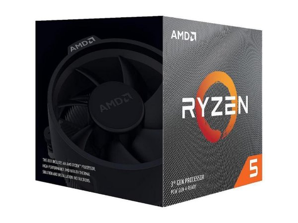 AMD Ryzen 5 3600X 6-CORE 12-THREAD 3.8GHz (4.4GHz Max Turbo) Cache L3 32MB c/ Wraith Spire Cooler AM4 (100-100000022BOX)