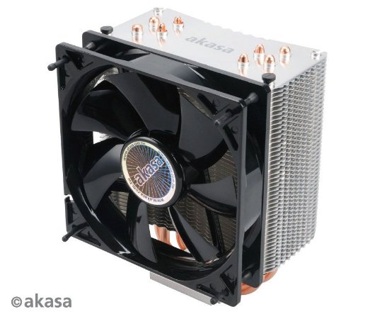 Cooler Akasa Nero 3 FAN 120mm PWM 4 Heatpipes (AK-CC4007EP01)