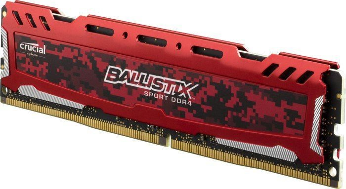 Crucial Ballistix Sport LT 16GB 288-Pin DDR4 2666MHz RED (PC4 21300 ) (BLS16G4D26BFSE)