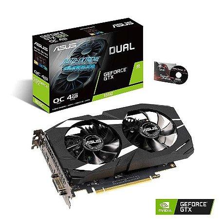 ASUS GeForce GTX 1650 Overclocked 4GB Dual Fan Edition HDMI DP 1.4 DVI (DUAL-GTX1650-O4G)