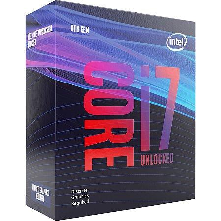 Intel Core i7-9700KF Coffee Lake 8-Core 3.6 GHz (4.9 GHz Turbo) LGA 1151 95W (Sem Gráfico Integrado) (BX80684I79700KF)