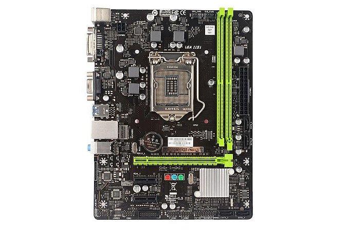Biostar (SUPX) H310MY-Q7 LGA 1151 (300 Series) Intel H310 HDMI SATA 6Gb/s USB 3.1 Micro ATX