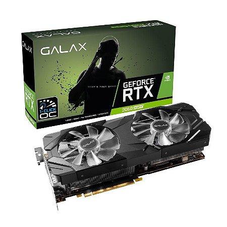 GALAX GeForce RTX 2060 SUPER EX (1-Click OC) 8GB GDDR6 256-Bit DX12 PCI Express 3.0 x16 (26ISL6MPX2EX)