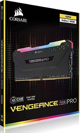 Corsair Vengeance RGB PRO 16GB (2X8) DDR4 3200MHZ (PC4 25600) CL16 (CMW16GX4M2C3200C16)