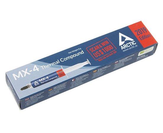 Pasta Térmica Arctic Cooling MX-4 Edição 2019 - 8g (ACTCP00008B)