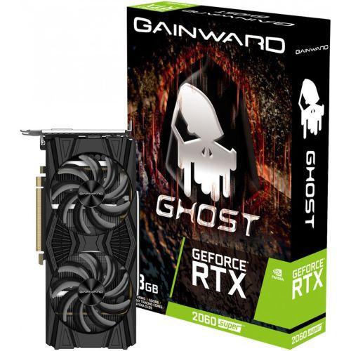 Gainward GeForce RTX 2060 SUPER GHOST 8GB GDDR6 256-Bit DX12 PCI Express 3.0 x16 (NE6206S018P2-1160X)