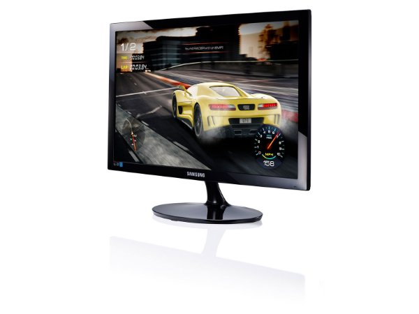 Monitor Gamer Samsung LED 24´ Widescreen Full HD HDMI/VGA 1ms (LS24D332HSXZD)