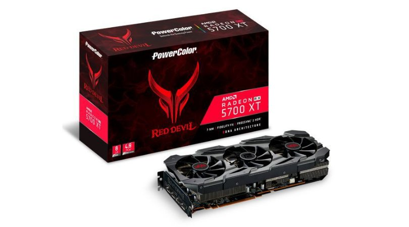 PowerColor Radeon RX 5700 XT Red Devil, 8GB GDDR6, 256Bit (AXRX 5700 XT 8GBD6-3DHE/OC)