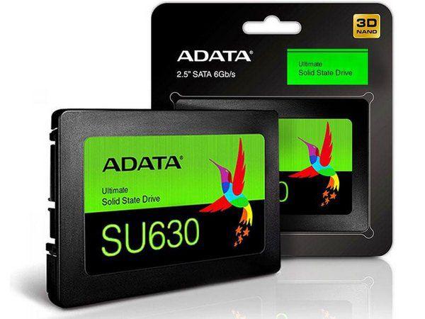 "SSD Adata Ultimate SU630, 240GB, 2.5"" QLC 3D NAND Sata III (ASU630SS-240 GQ-R)"