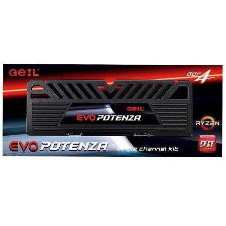 Geil Evo Potenza 8GB 3000Mhz DDR4 1.2v CL16 Preto (GAPB48GB3000C16ASC)