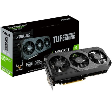 Asus NVIDIA GeForce TUF3 GTX 1660 SUPER 6GB, GDDR6 192-bits DX12 (TUF 3-GTX1660S-O6G-GAMING)