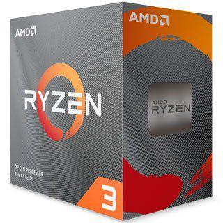 AMD Ryzen 3 3300x 3.8GHz (4.3GHz Turbo), 4-Cores 8-Threads, Cooler Wraith Stealth, AM4, 100-100000159BOX
