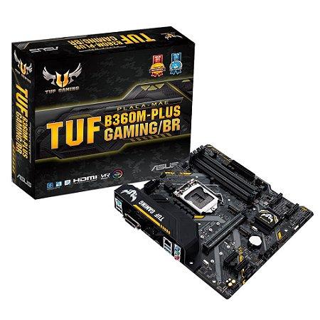 Asus TUF B360M-Plus Gaming/BR LGA 1151 (300 Series) Intel B360 HDMI SATA 6Gb/s USB 3.1 Micro ATX