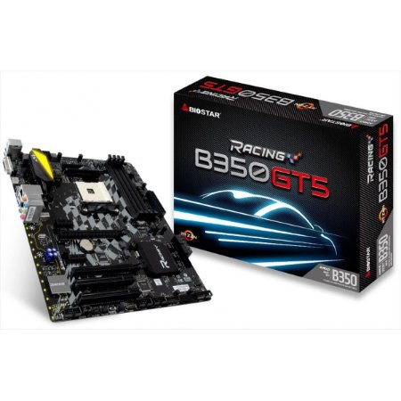 BIOSTAR B350GT5 AM4 AMD B350 SATA 6Gb/s USB 3.1 HDMI ATX