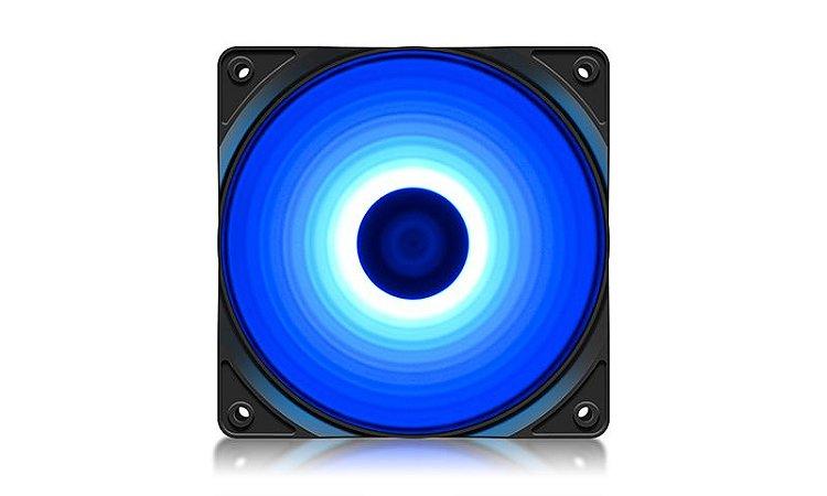 FAN Deepcool RF120B, Led Azul, 120mm (DP-FLED-RF120-BL)